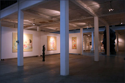 photo of an art gallery