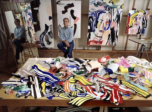 studio sundays roy lichtenstein artist run website