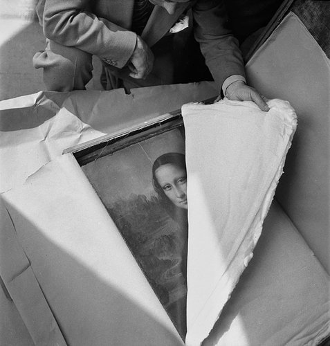 Unwrapping of the Mona Lisa