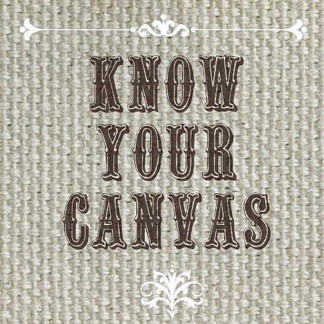 Canvas and the words: Know Your Canvas