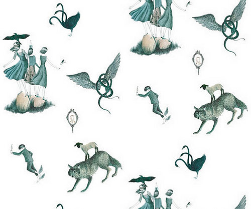 Julie Morstad wallpaper illustration