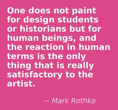 Quote from Rothko