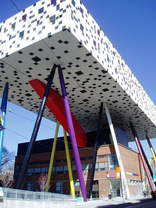 A photograph of the exterior of Toronto's OCADU