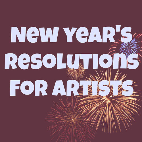 new years resolutions for artists