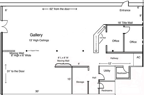 Visualize Your Art Exhibition Using The Gallery Floor