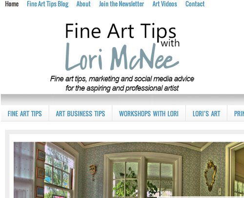 Fine Art Tips Blog
