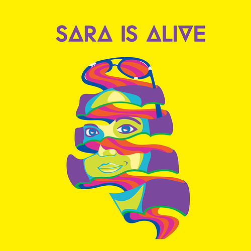 graphic design poster about sara