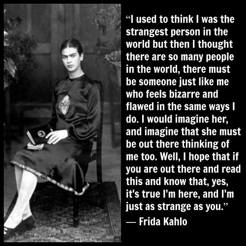Quote from Frida Kahlo