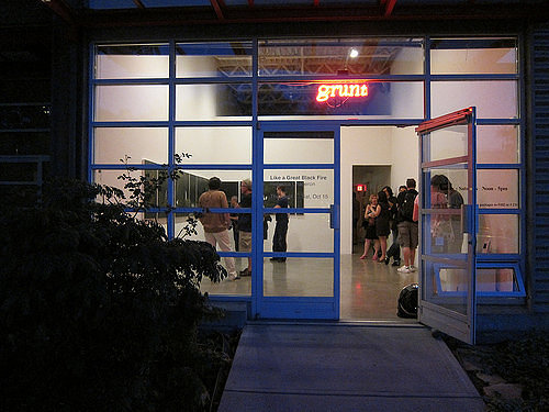 Outside of Grunt Gallery