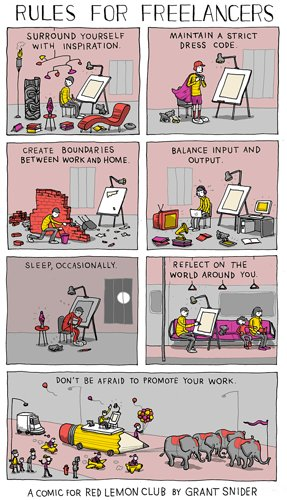Rules of freelancers