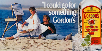 I Could Go For Something Gordon's by Jeff Koons