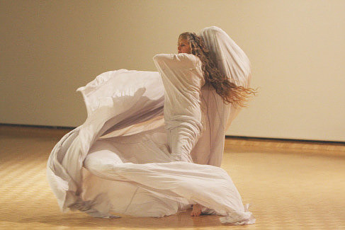 A still from Susan McKenzie's Tornado performance