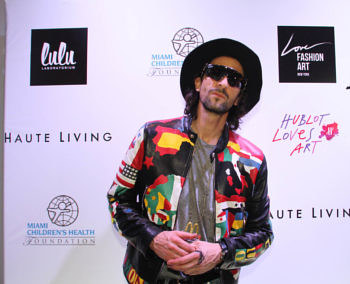 A photo of Adrien Brody at Art Basel Miami Beach in 2015