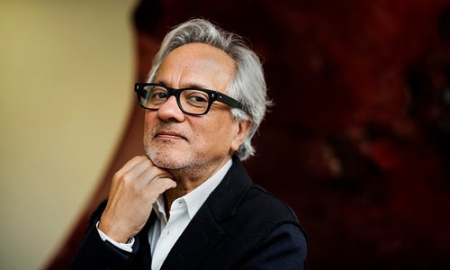 A photo of Anish Kapoor, 1991's Turner Prize winner
