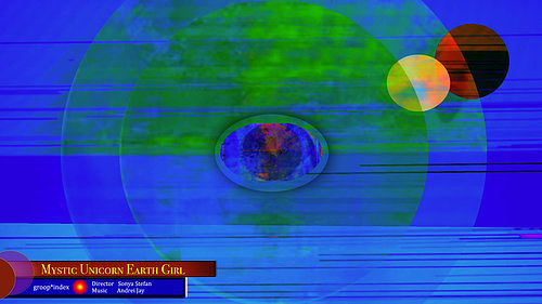 A video still from a project by Sonya Stefan