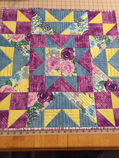 A quilting project by Maday Delgado