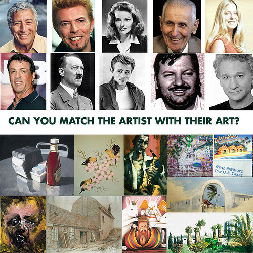 Can you match the artist with their art?