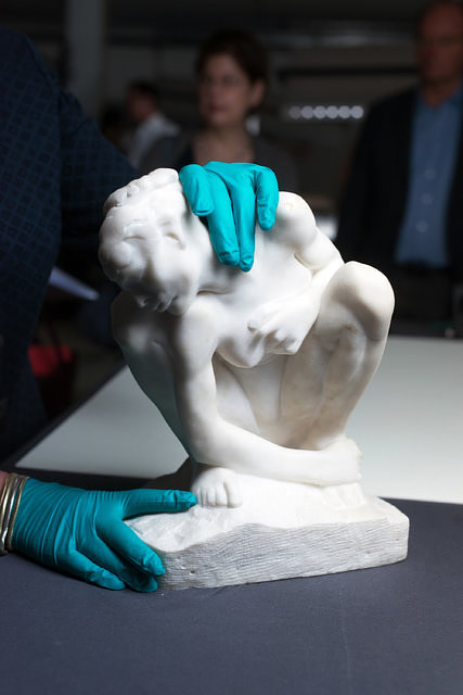 An 1882 Rodin work held in the Gurlitt trove