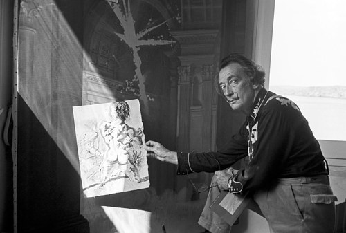 A photo of Salvador Dali