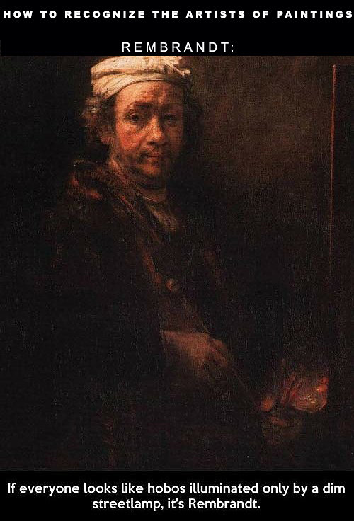 Rembrandt Oil Painting