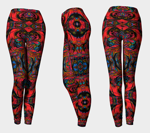A design for custom leggings