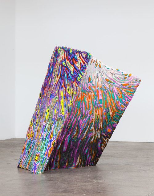 A monolithic artwork by Holton Rower