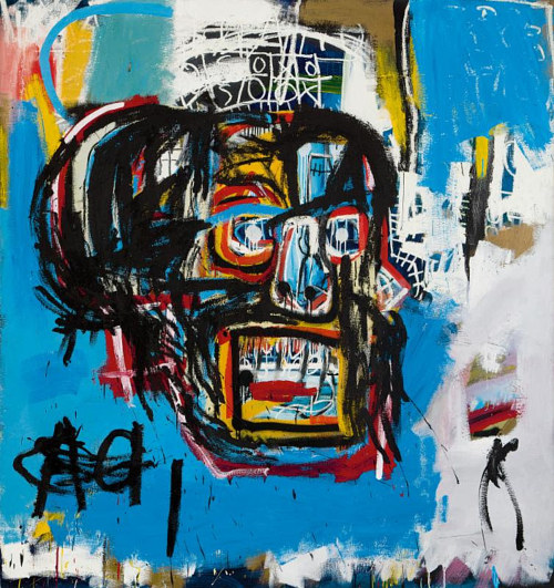 The Basquiat in question