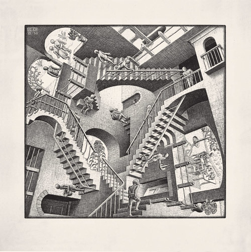 M.C. Escher's artwork Relativity