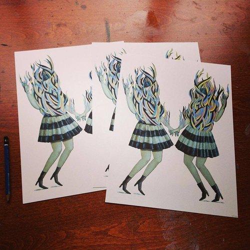 How to Sell Art Prints - Artist Run Website