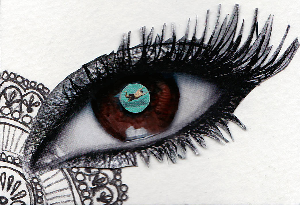 Drawing Eye  by Leenda Bonilla