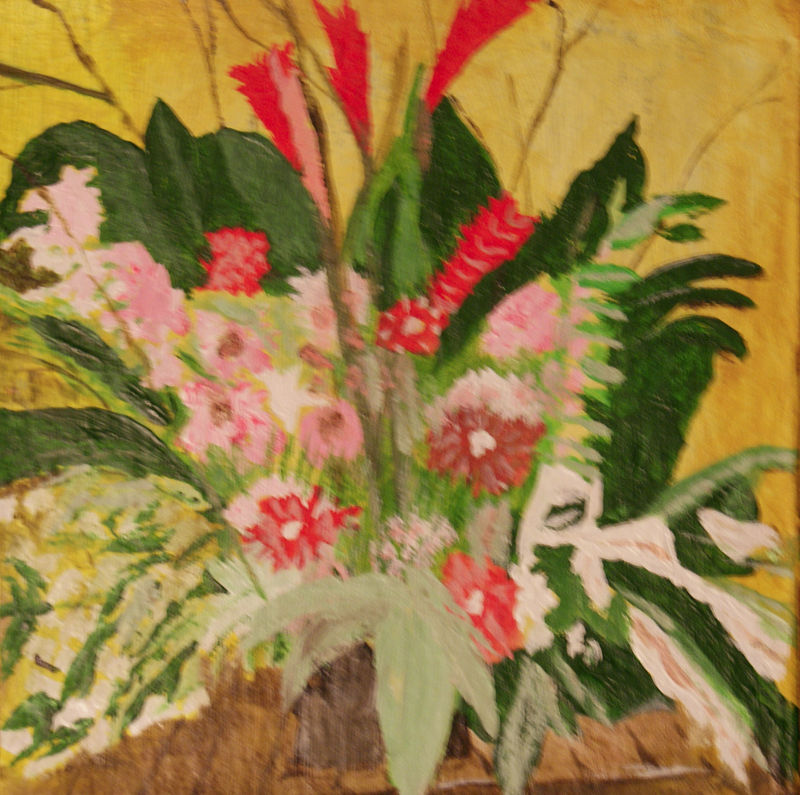 flowers and ferns by anthony Ziegler