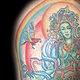 Green Tara Tattoo Kelowna B.C. by Erin  Burge