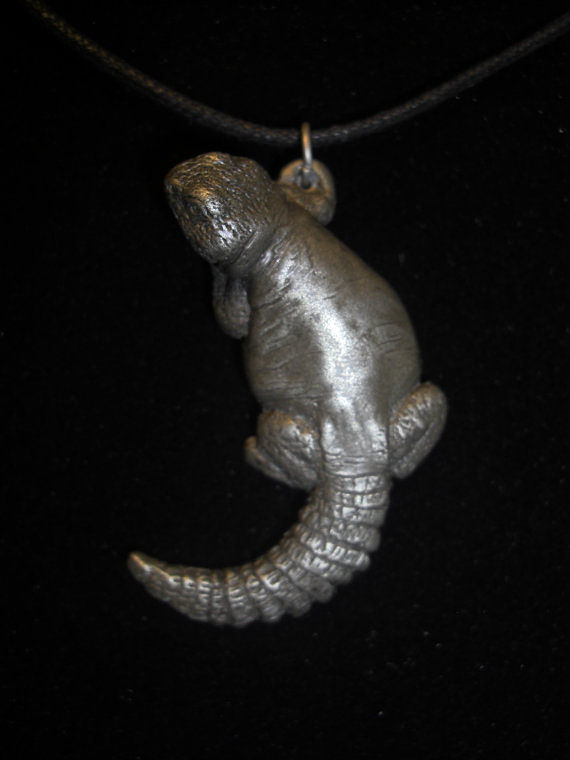 Uromastyx pendant (cold cast pewter) by Jason  Shanaman
