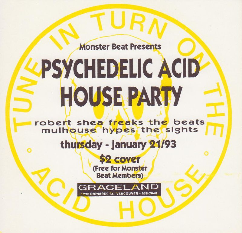 acid house days were wild by Robert Shea