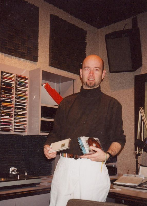 hosting a radio show by Robert Shea