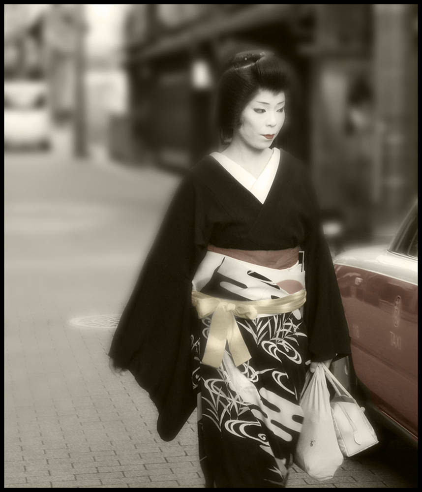 Geisha by Jim Friesen