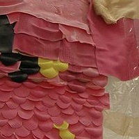 Painting Childhoods End (detail2) by Stephanie Cormier