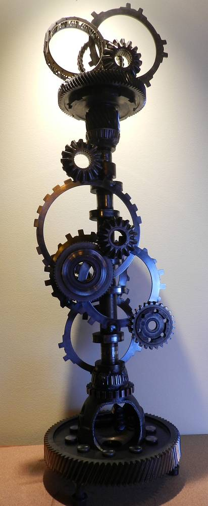 Not just a cog in the wheel-View1 by Karen Holland