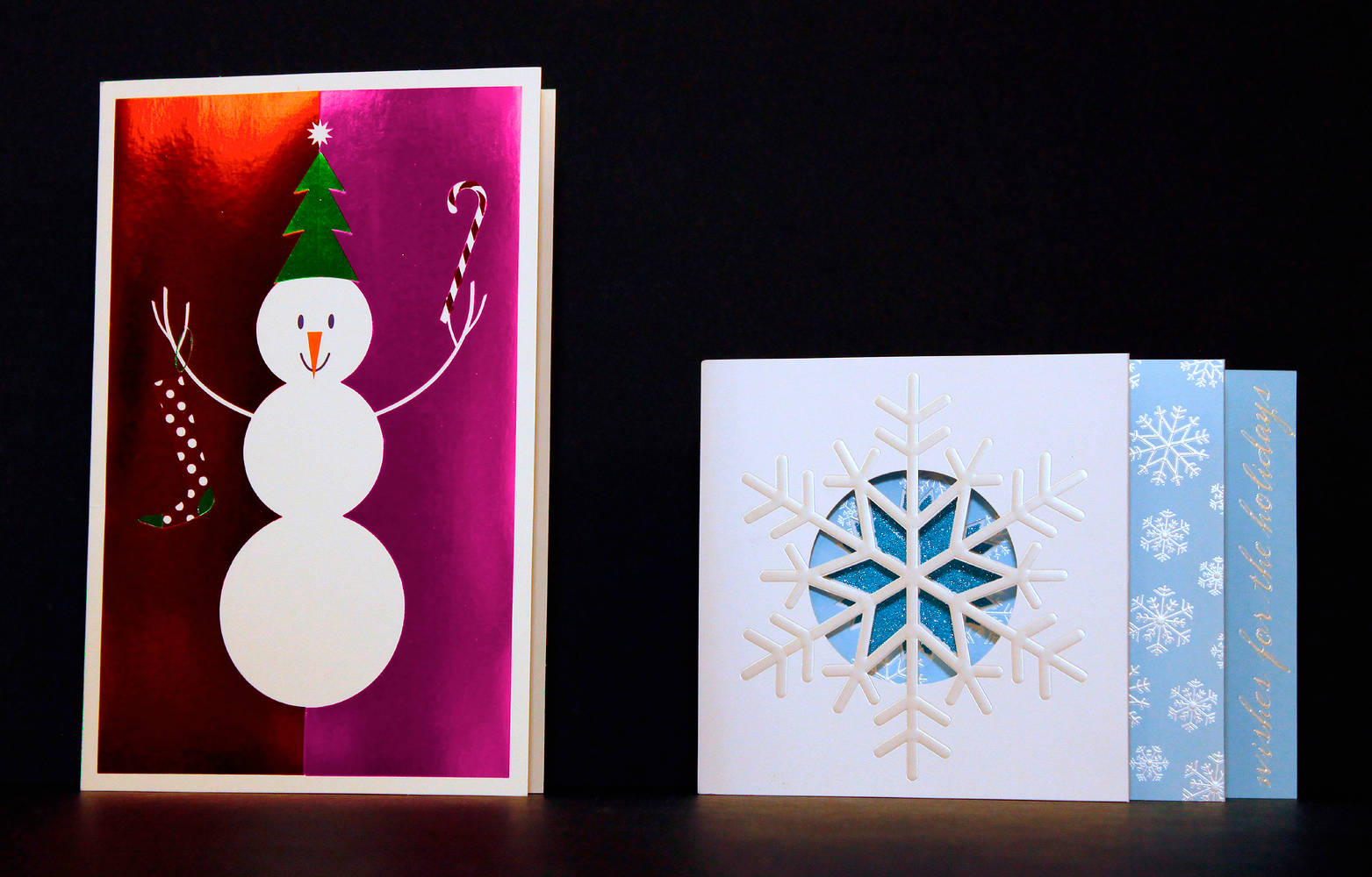 Snowman and snowflake cards american greetings picture book studio oil painting snowman and snowflake cards american greetings by valerie lesiak kristyandbryce Images