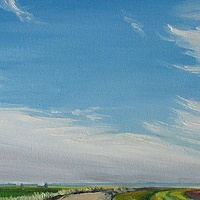 Oil painting Sackville Sky by Michael McEwing