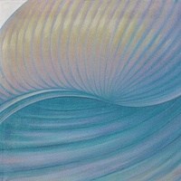 Oil painting Sea Opal by Sue Ellen Brown