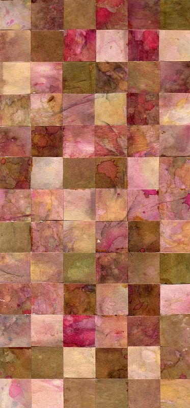 Watercolor Squares by Richard Mountford