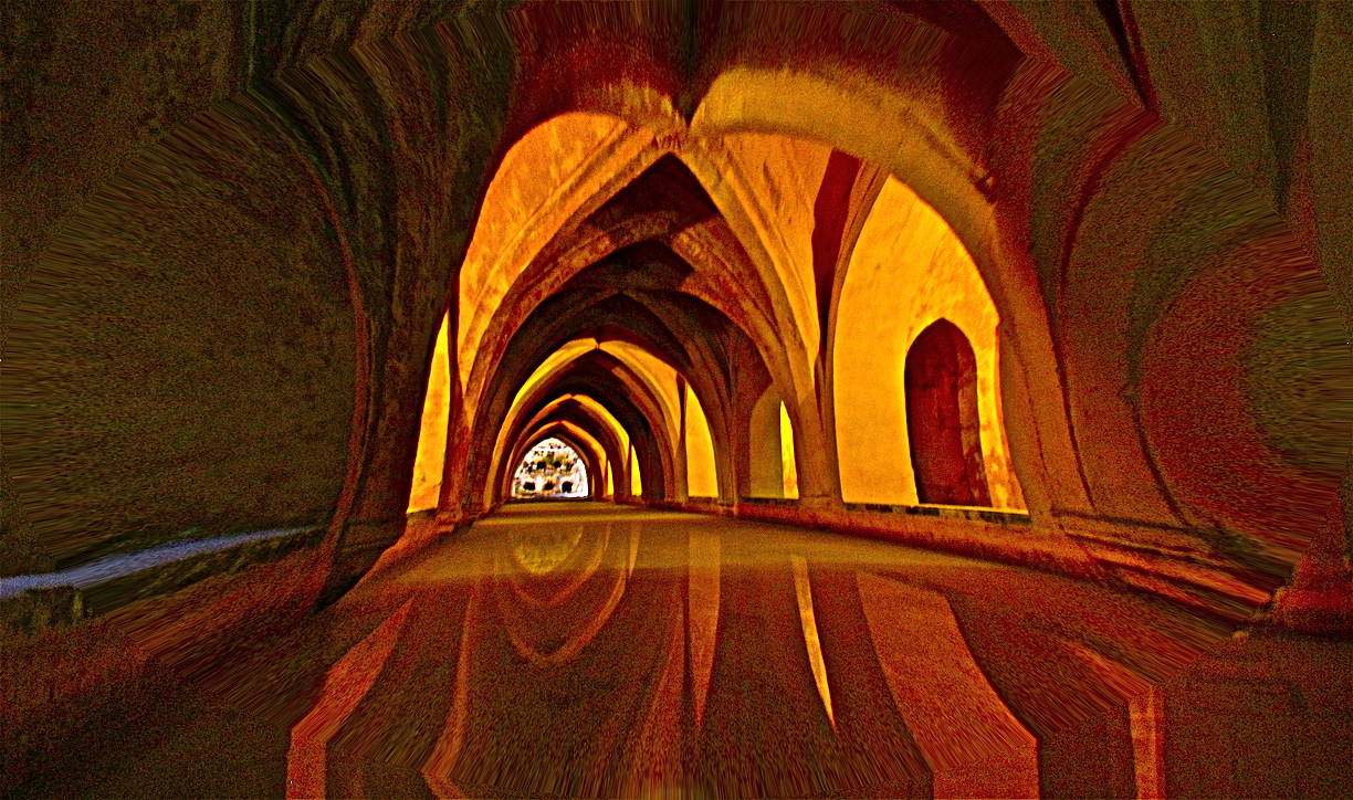ARAB BATHS RONDA, SPAIN by Joeann Edmonds-Matthew