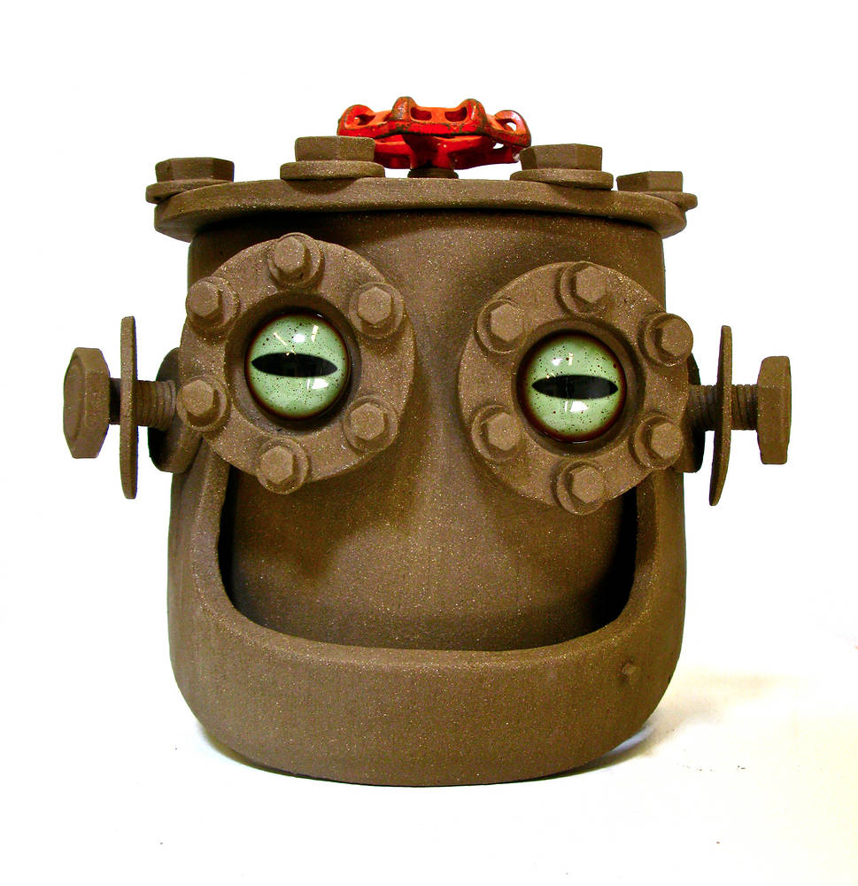 Fred the Cookie Jar by John  Brickels