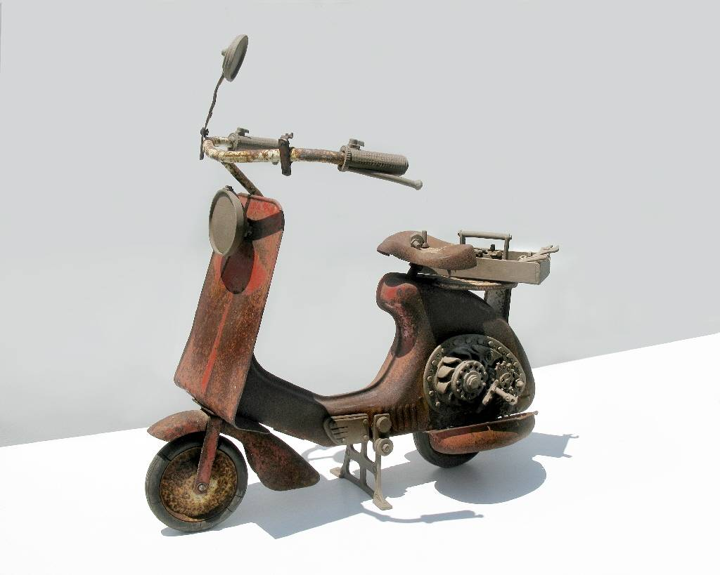 Scooter by John  Brickels