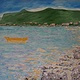 Oil painting Seclusion Bay-Newfoundland by Gary Doll