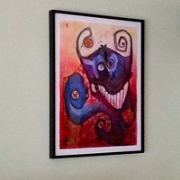 Sneaky Demon Framed by Joey Feldman