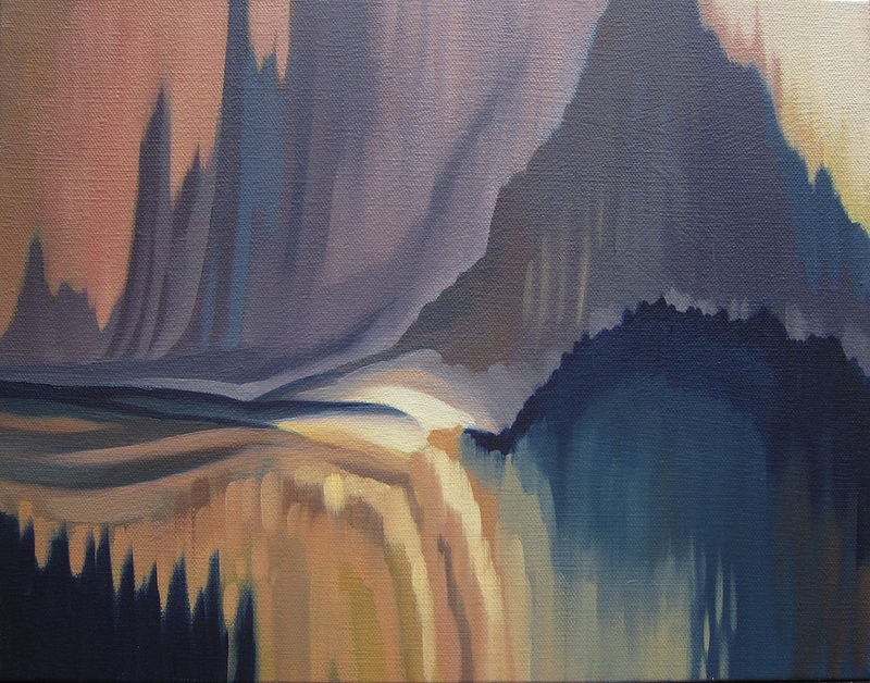 Oil painting Etheria II by Robert Porazinski