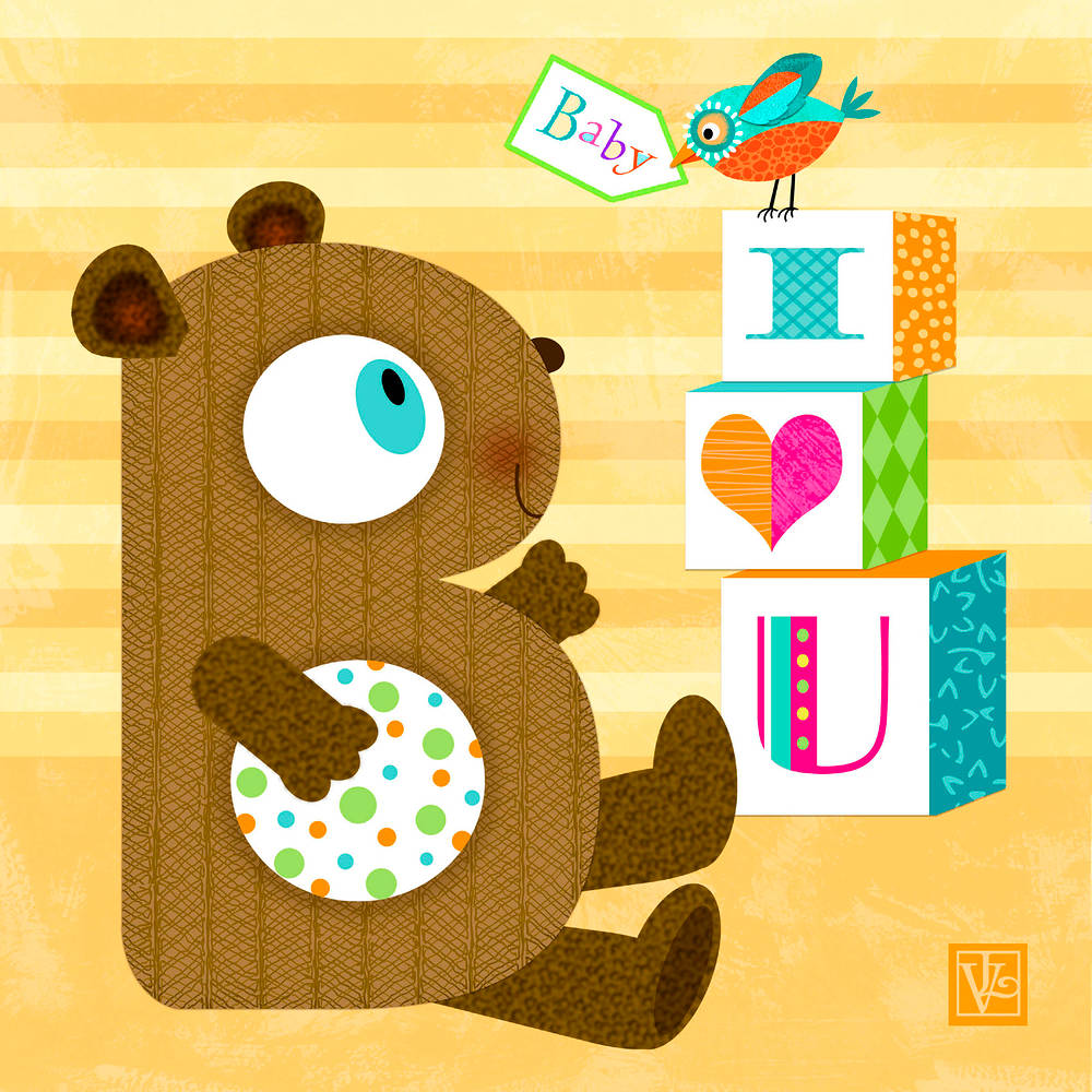 The Letter B for Baby Bear by Valerie Lesiak