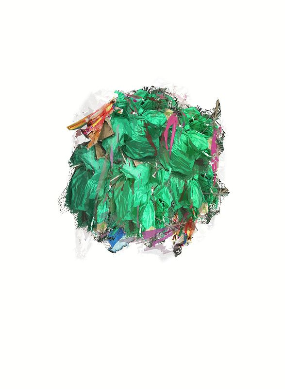 Plastic Bag Mass by Morgan Wedderspoon
